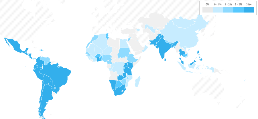 World Map of Microinsurance